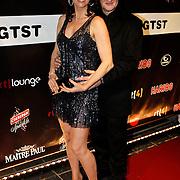 NLD/Amsterdam/20100304 - Premiere 4000ste aflevering Goede Tijden Slechte Tijden, Marjolein Keuning en partner Henk Poort