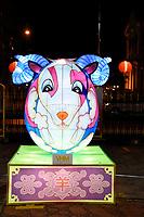 Goat Lantern at Chinese New Year