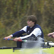 148th Boat Race Trail Eight's.Oxford University Boat Club (OUBC).Putney to Mortlake- The Championship Course.Gerritjan Eggenkamp. Varsity Boat Race [Mandatory Credit  Peter Spurrier; Intersport Images] 20011213 Oxford University Boat Club,  Trial Eights, Putney to Mortlake, London, UK
