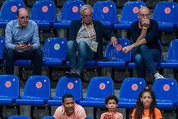 Michel Everaert, Joop Alberda during United States - Netherlands, FIVB U20 Women's World Championship on July 15, 2021 in Rotterdam