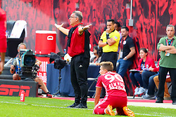 September 30, 2018 - Harrison, NJ, U.S. - HARRISON, NJ - SEPTEMBER 30:   Atlanta United head coach Gerardo ''Tata'' Martino during the first  half of  the Major League Soccer game between the New York Red Bulls and Atlanta United on September 30, 2018 at Red Bull Arena in Harrison, NJ.  (Photo by Rich Graessle/Icon Sportswire) (Credit Image: © Rich Graessle/Icon SMI via ZUMA Press)