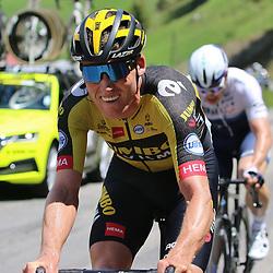 ANDERMATT (SUI) JUNE 13 <br /> Mike Teunissen at Tour de Suisse 2021  before de start of a stage (Photo: Sportfoto/Orange Pictures)