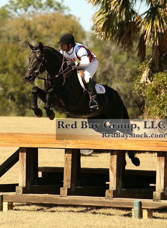 Darren Chiacchia and Windfall II at the Rocking Horse Adanced Horse Trials in Altoona, Florida.
