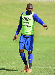 Cape Town-180823- Cape Town City captain Thami Mkhize at training preparing for their up comingMTN 8 semi-final against Sundowns at Cape Town Stadum.Photographer :Phando Jikelo/African News Agency/ANA