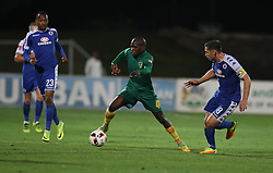Lerato Lamola of Golden Arrows during the 2016 Premier Soccer League match between Golden Arrows and Supersport United held at the Princess Magogo Stadium in Durban, South Africa on the 28th September 2016<br /> <br /> Photo by:   Steve Haag / Real Time Images