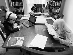 Life in the Hoben family while social distancing during the coronavirus pandemic in the Hudson Valley, New York. Forest and Lotus Hoben, ages 10 and 6, were adopted from China and have albinism, a rare group of genetic disorders that cause the skin, hair, or eyes to have little or no color. Albinism is also associated with vision problems. According to the National Organization for Albinism and Hypopigmentation, about 1 in 18,000 to 20,000 people in the United States have a form of albinism.