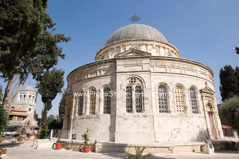 Exterior of the Ethiopian church Jerusalem Israel built between 1873 and 1911