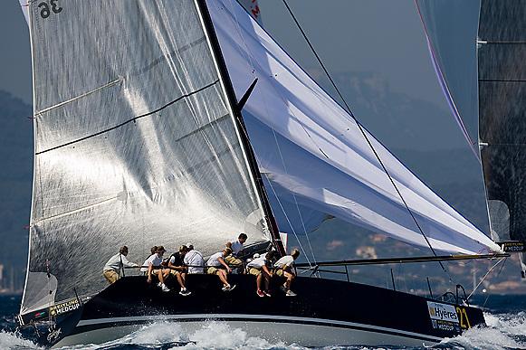 07_005403 © Sander van der Borch. Hyères - FRANCE,  12 September 2007 . BREITLING MEDCUP  in Hyères  (10/15 September 2007). Races 3, 4 & 5.