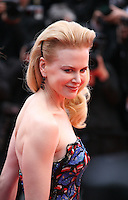 Actress Nicole Kidman at the The Coen brother's new film 'Inside Llewyn Davis' red carpet gala screening at the Cannes Film Festival Sunday 19th May 2013