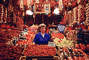 A market stall selling fruit, Hungary RESERVED USE - NOT FOR DOWNLOAD -  FOR USE CONTACT TIM GRAHAM