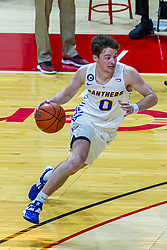 NORMAL, IL - February 27: Nate Heise during a college basketball game between the ISU Redbirds and the Northern Iowa Panthers on February 27 2021 at Redbird Arena in Normal, IL. (Photo by Alan Look)