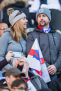England FC supporters ahead of the UEFA Nations League match between England and Croatia at Wembley Stadium, London, England on 18 November 2018.