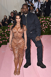 File photo dated May 06, 2019 of Kim Kardashian and Kanye West attend The 2019 Met Gala Celebrating Camp: Notes On Fashion at The Metropolitan Museum of Art in New York City, NY, USA. US rapper Kanye West took to Twitter over the weekend to announce he was running for president, with his declaration quickly going viral and prompting a flurry of speculation. His wife Kim Kardashian West and entrepreneur Elon Musk endorsed him. Photo by Lionel Hahn/ABACAPRESS.COM