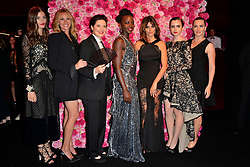 Alma Jodorowsky, Julia Roberts, Isabella Rossellini, Lupita Nyong'o, Penelope Cruz, Lily Collins and Kate Winslet attending Lancome 80th Anniversary WOW Party held at Casino de Paris, France on July 7, 2015. Photo by Nicolas Briquet/ABACAPRESS.COM  | 508157_042 Paris France