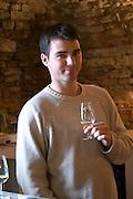 Etienne Delarche, owner winemaker domaine m delarche pernand-vergelesses cote de beaune burgundy france