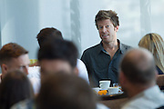 Columbia hosted a breakfast for select media and Epic personalities confirming their ongoing relationship with The ABSA Cape Epic. Held at The Westin Horel, Cape Town. Image by Greg Beadle