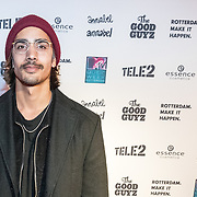 NLD/Rotterdam/20161102 - MTV Music Week Official Opening Party 2016, Jessy broer Kay Nambiar