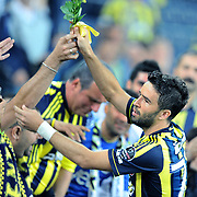 Fenerbahce's Gokhan GONUL during their Turkish superleague soccer match Fenerbahce between Istanbul BB at the Sukru Saracaoglu stadium in Istanbul Turkey on Saturday 01 October 2011. Photo by TURKPIX