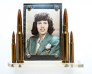 Picture frame made by SSG Harvey Brundage.