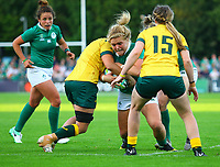 Rugby Union - 2017 Women's Rugby World Cup (WRWC) - Pool C: Ireland vs. Australia<br /> <br /> Ireland's Cliodhna Moloney in action , at the UCD Bowl, Dublin.<br /> <br /> COLORSPORT/KEN SUTTON