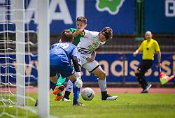 NK Olimpija vs. SK Sturm during the Ljubljana Open Cup 2021. , on 12.06.2021 in ZAK Stadium, Ljubljana, Slovenia. Photo by Urban Meglič / Sportida