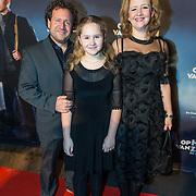 NLD/Zaandam/20190128- première musical Op Hoop van Zegen, Hilke Bierman met partner en dochter