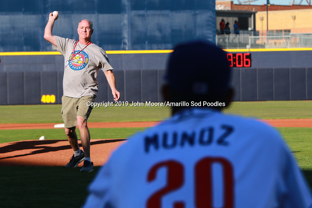 The Amarillo Sod Poodles played against the Corpus Christi Hooks on Saturday, April 20, 2019, at HODGETOWN in Amarillo, Texas. [Photo by John Moore/Amarillo Sod Poodles]