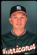 2000 Miami Hurricanes Baseball Head Shots
