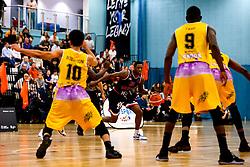 Fred Thomas of Bristol Flyers - Photo mandatory by-line: Robbie Stephenson/JMP - 10/04/2019 - BASKETBALL - UEL Sports Dock - London, England - London Lions v Bristol Flyers - British Basketball League Championship