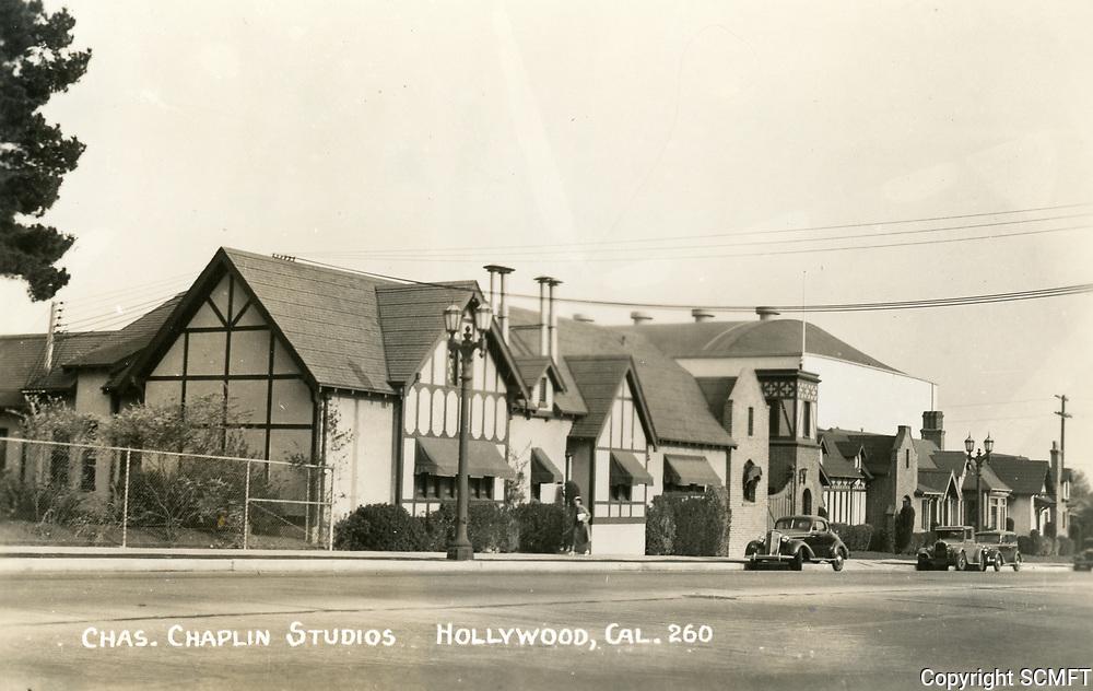 1943 Chaplin Studios on La Brea Ave.