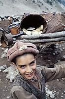 Pakistan. Khyber Pakhtunkhwa, Region de Chitral. Tribu Kalash.  // Kalash ethnic group. Rumbur valley. Chitral area. Khyber Pakhtunkhwa, Pakistan.