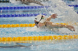 October 9, 2018 - Buenos Aires, Buenos Aires, Argentina - BLANKA BERECZ of Hungary leads to win gold during the WomenÂ«s 200m Butterfly Final on Day 2 of the Buenos Aires 2018 Youth Olympic Games at the Olympic Park. (Credit Image: © Patricio Murphy/ZUMA Wire)