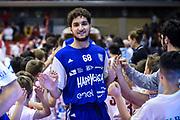 Taddeo Vincenzo<br /> Grissin Bon Reggio Emilia - Happycasa Brindisi<br /> Legabasket Serie A 2018/2019<br /> Reggio Emilia 31/03/2019<br /> Foto A.Giberti / Ciamillo-Castoria
