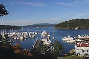 Friday Harbor, San Juan Islands, Washington<br />