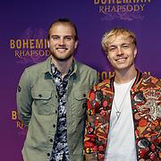 NLD/Amsterdam/20181030 - Premiere Bohemian Rapsody, Bart Maessen en Robin Zomer