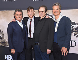 May 14, 2019 - Hollywood, California, U.S. - Ian McShane, John Hawkes, David Milch and Timothy Olyphant arrives for the premiere of HBO's 'Deadwood' Movie at the Cinerama Dome theater. (Credit Image: © Lisa O'Connor/ZUMA Wire)