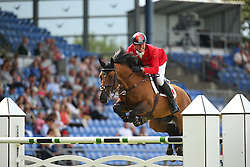 Demirsoy Derin, (TUR), Harry K<br /> Team Competition round 1 and Individual Competition round 1<br /> FEI European Championships - Aachen 2015<br /> © Hippo Foto - Stefan Lafrentz<br /> 19/08/15
