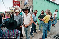 Cowboys and Bikers, Sundance, Wyoming, 1994<br /> <br /> Limited Edition Print from an edition of 15. Photo ©1994 Michael Lichter.