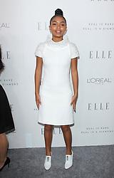 Elle Women in Hollywood Awards - Los Angeles. 16 Oct 2017 Pictured: Yara Shahidi. Photo credit: Jaxon / MEGA TheMegaAgency.com +1 888 505 6342
