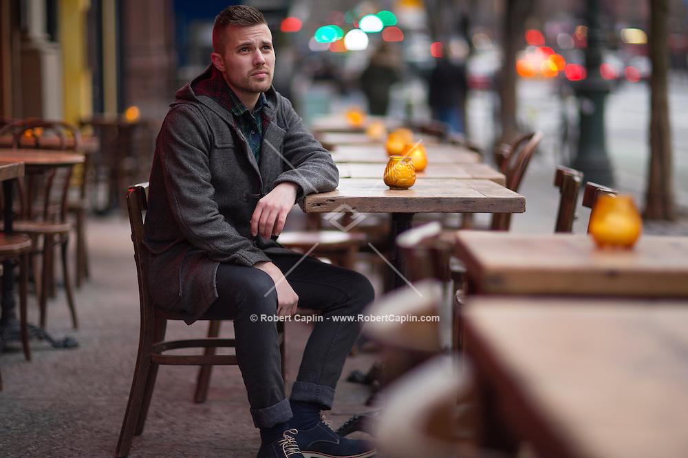 Musician Zak Kimball..Photo by Robert Caplin..