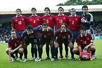 Fotball <br /> FIFA World Youth Championships 2005<br /> Nederland / Holland<br /> 11.06.2005<br /> Foto: ProShots/Digitalsport<br /> <br /> Honduras v Chile<br /> Doetinchem<br /> <br /> Chile