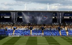 The King Power Stadium ahead of the UEFA Champions League Quarter-Final Second Leg between Leicester City and Atletico Madrid - Mandatory by-line: Robbie Stephenson/JMP - 18/04/2017 - FOOTBALL - King Power Stadium - Leicester, England - Leicester City v Atletico Madrid - UEFA Champions League Quarter-Final Second Leg