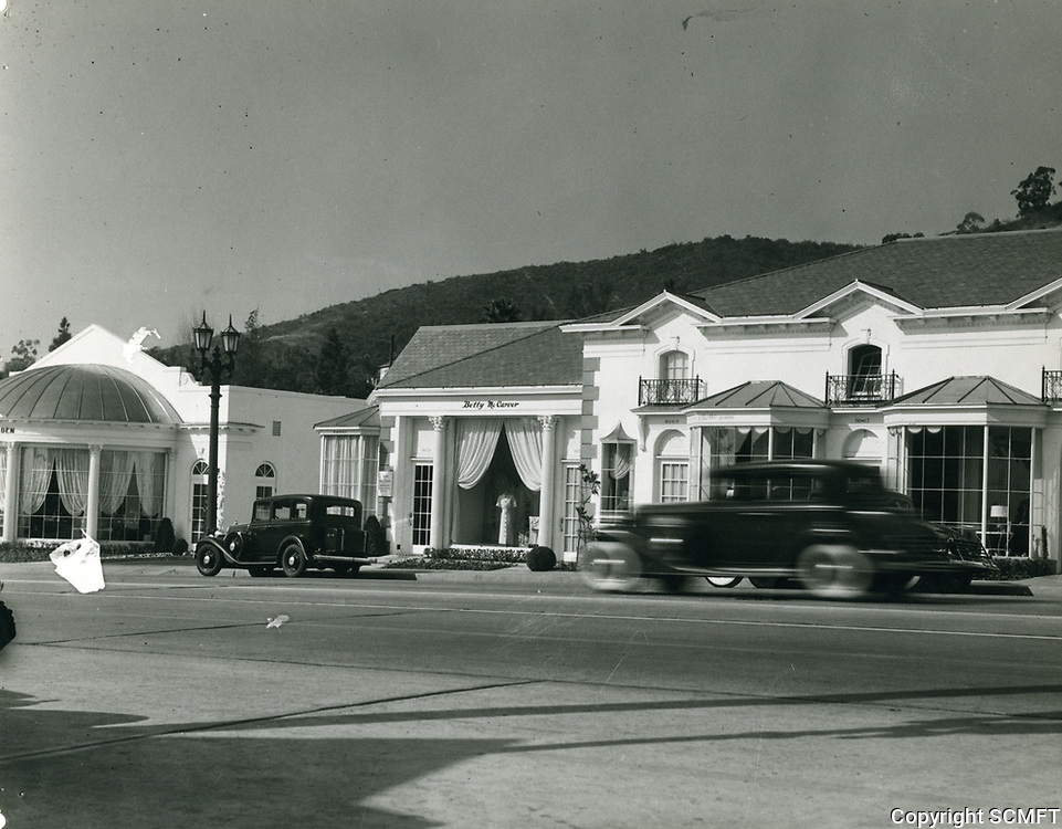 1936 8600 block of Sunset Blvd. in West Hollywood