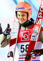 11.12.2016, Lysgards Schanze, Lillehammer, NOR, FIS Weltcup Ski Sprung, Lillehammer, im Bild Manuel Fettner (AUT) // Manuel Fettner of Austria during Mens Skijumping of FIS Skijumping World Cup at the Lysgards Schanze in Lillehammer, Norway on 2016/12/11. EXPA Pictures © 2016, PhotoCredit: EXPA/ Tadeusz Mieczynski