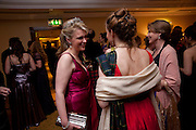 LADY DALMANY; LADY EMMA MAHMOOD, 2009 Royal Caledonian Ball in aid of various Scottish charities , Great Room, Grosvenor House. London. 1 May 2009.