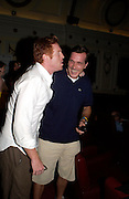 Damian Lewis. Johnny Lee Miller Hosts a Grand Classics screening of 'Singing In the Rain. the Electric Cinema. 111 July 2005. ONE TIME USE ONLY - DO NOT ARCHIVE  © Copyright Photograph by Dafydd Jones 66 Stockwell Park Rd. London SW9 0DA Tel 020 7733 0108 www.dafjones.com