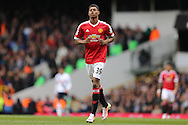 Marcus Rashford of Manchester United looks on. Barclays Premier league match, Tottenham Hotspur v Manchester Utd at White Hart Lane in London on Sunday 10th April 2016.<br /> pic by John Patrick Fletcher, Andrew Orchard sports photography.