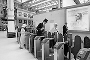 Departing to Royal Ascot, from Waterloo station, Wednesday, 15 June 2016
