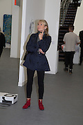LADY MYNERS, The VIP preview of Frieze. Regent's Park. London. 16 October 2013