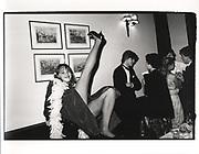 Jo Valentine, Keats dinner. Studley Priory. 1980